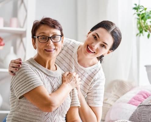 Madre figlia benessere colf badante convivente aes Lecco