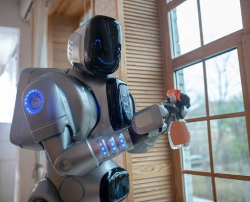 badante robot aes domicilio Lecco